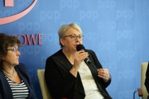 Elzbieta Szymanik - Zastępca Dyrektora ds.EFS Mazowieckiej Jednostki Wdrażania Programów Unijnych